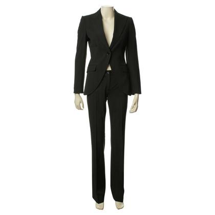 Dolce & Gabbana Tailleur pantalone con gessati