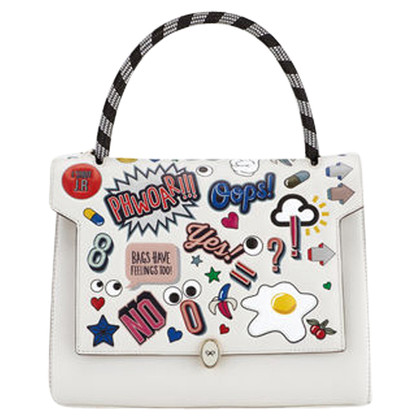 "Anya Hindmarch ""Bathurst Satchel All about Stickers"""