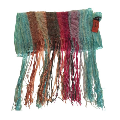 Missoni Colorful scarf with sparkling threads