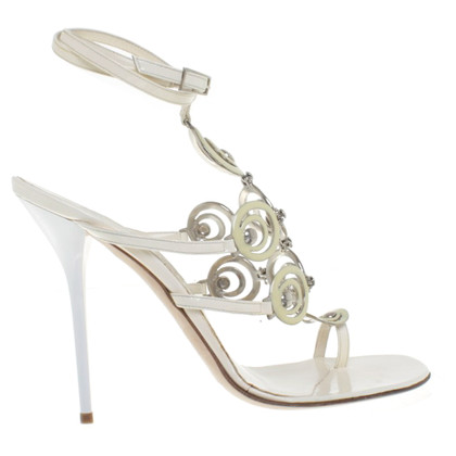 Gianmarco Lorenzi Sandals with application