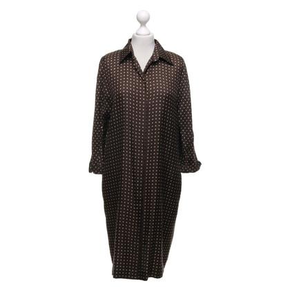 Max Mara zijden jurk met punten