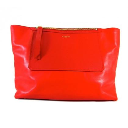 Lanvin Shopper in Rot