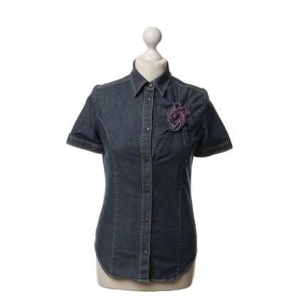 Moschino Denim shirt in blue