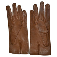 Céline leather gloves