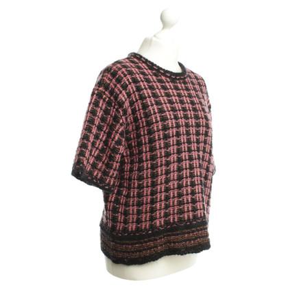 Schumacher Bi color knit pullover