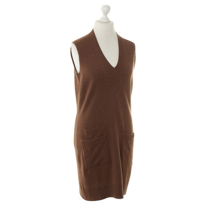 Hermès Cashmere dress in Brown