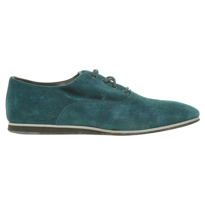 Tod's Lace-up shoes in turquoise