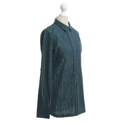 Calvin Klein Blouse with pinstripe pattern