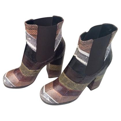 Dolce & Gabbana Schlangenleder-Stiefel