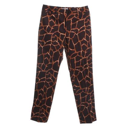 Dolce & Gabbana Hose mit Animal-Print