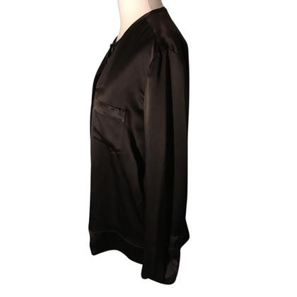 Strenesse Zijden blouse in bruin