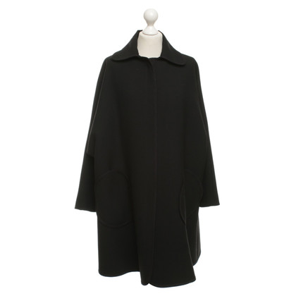 Armani Cape coat in black