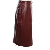 Hermès Wrap skirt in Bordeaux