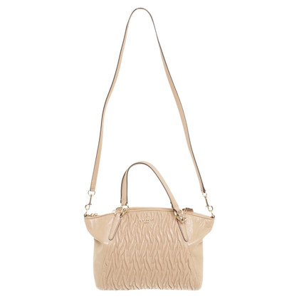 Coach Handbag in beige