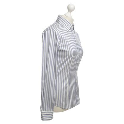 Van Laack gestreepte blouse