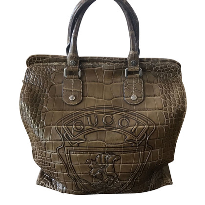 Gucci Crocodile travel bag
