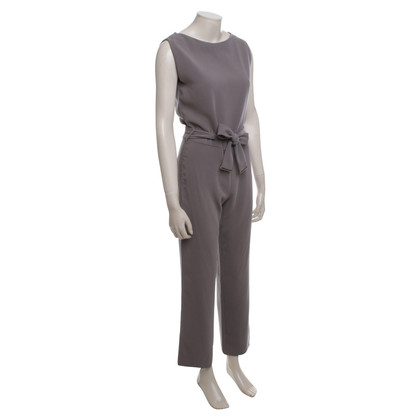 René Lezard Jumpsuit in Taupe