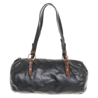 Pollini Handbag in black / brown
