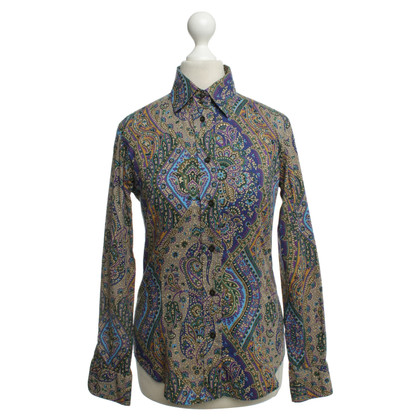 Etro Blouse with colourful patterns