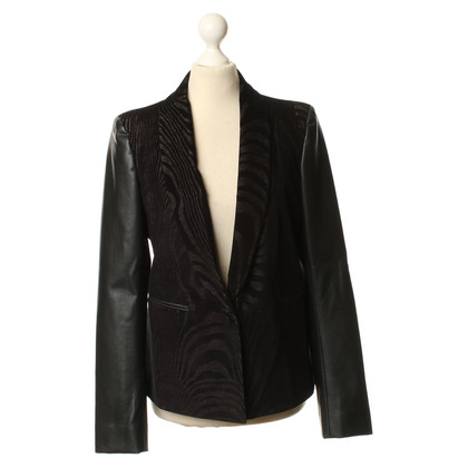 Rich & Royal Blazer made of a material mix