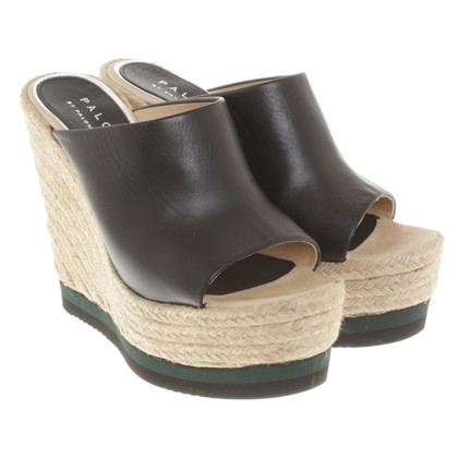 Paloma Barcelo Wedges in zwart