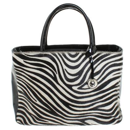 Furla Handbag with zebra pattern