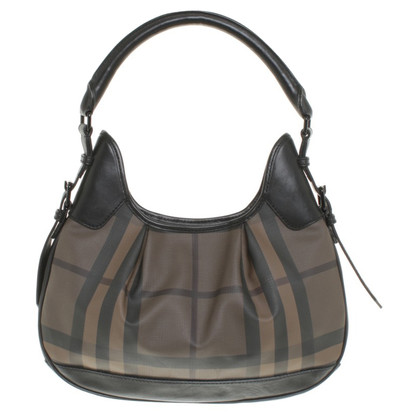 Burberry Handtas in zwart / Brown
