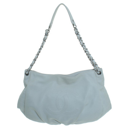 Chanel Handbag purse cream white
