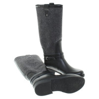 Ugg Rubber boots with felt