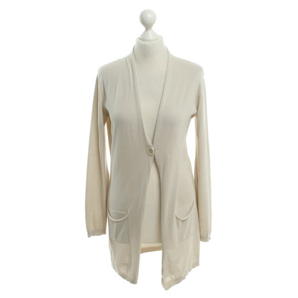 Fabiana Filippi Lange Strickjacke in Beige