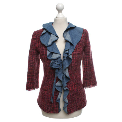 Dolce & Gabbana Tweed jacket with flounces