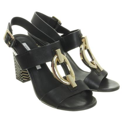 Diane von Furstenberg Sandals patterned heels