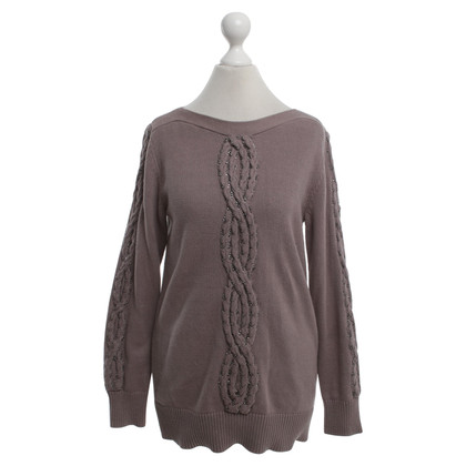 Reiss Trui met kabel knit