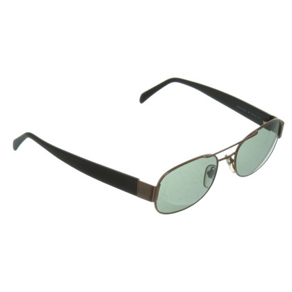 Donna Karan Sunglasses in black/copper