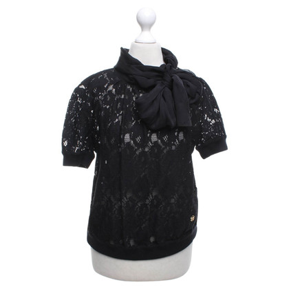 D&G Lace blouse in black