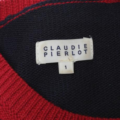 Claudie Pierlot Wollpullover in Rot/Blau Andere Farbe Spielraum Großhandelspreis Zu Verkaufen Rabatt Wirklich Pick Ein Besten Zum Verkauf lC5cBEhl