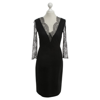 Elisabetta Franchi Dress with lace trimming