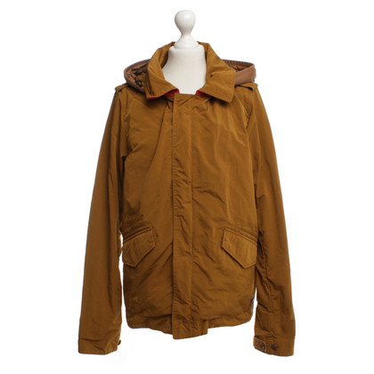 Maison Scotch Jacket in brown / red
