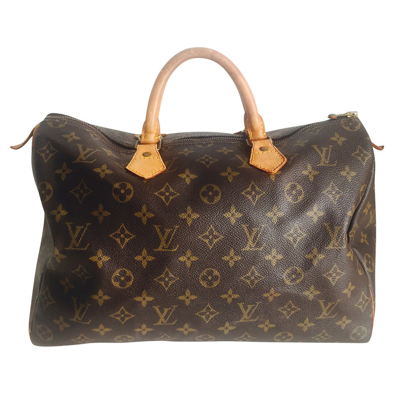 louis vuitton speedy 35 monogram canvas koop. Black Bedroom Furniture Sets. Home Design Ideas