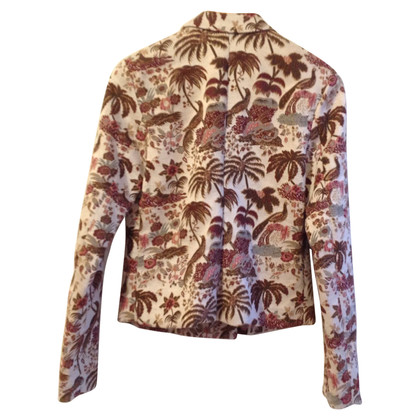 Maison Scotch Blazer in de Brocade optica
