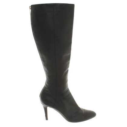 Jimmy Choo Leather boots in black