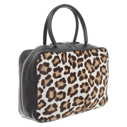 Marc Cain Handbag with leopard pattern