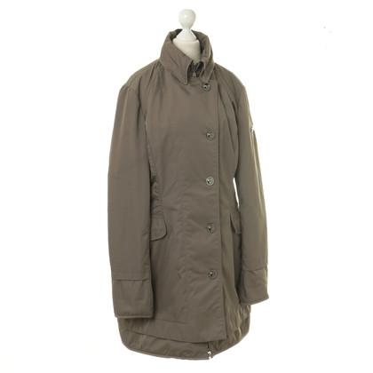 Peuterey Gewatteerde jas in Brown