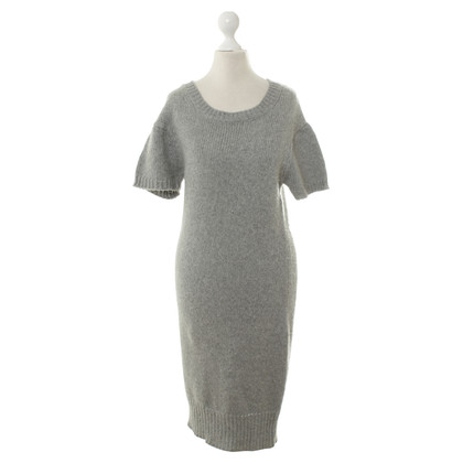 Allude Strickkleid in Grau