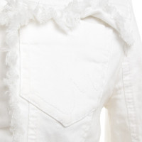 Marc Cain Jeans jacket in white