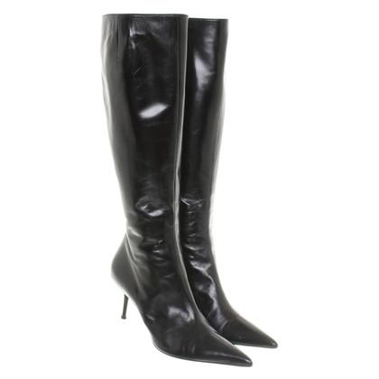 René Caovilla Boots in black