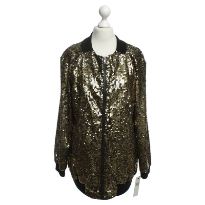 DKNY Silk jacket with sequins