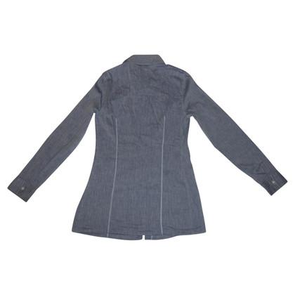 Brunello Cucinelli Shirt aus Baumwolle/Leinen