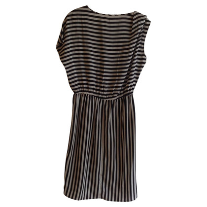 Stefanel Silk dress with stripes