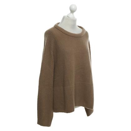Windsor Cognac-colored cashmere sweater